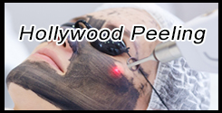 Hollywood Peeling med Laser